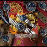 藍色的獨有風格-SEIKO精工PADI系列 SUN065 / SRPA21