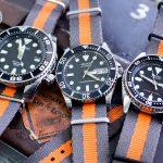 三款不一樣的軍用G10錶帶~