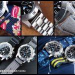 JLC 積家錶 Master Compressor 深海傳奇計時腕錶系列,簡單素雅,型男必備錶款~