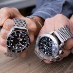 打破米蘭錶帶的復古感覺, 配在你的帝陀, 萬國手錶上吧!