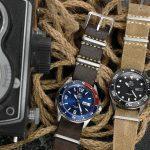 別樹一格的款式,ORIENT 東方錶 WATER RESISTANT系列 潛水機械錶 黑色 / 限量版 藍色