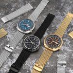 歷久不衰的款式,老經典帶來的新衝擊!錐形加厚傳統米蘭錶帶 X SEIKO 復古系列機械手錶~