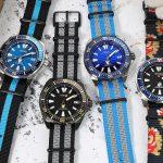 隨心百變的組合~ 精工 武士系列 X Nato & Zulu 尼龍錶帶