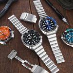 重裝登場的實心子彈鋼錶帶,SEIKO 精工復刻鮑魚專屬錶帶!
