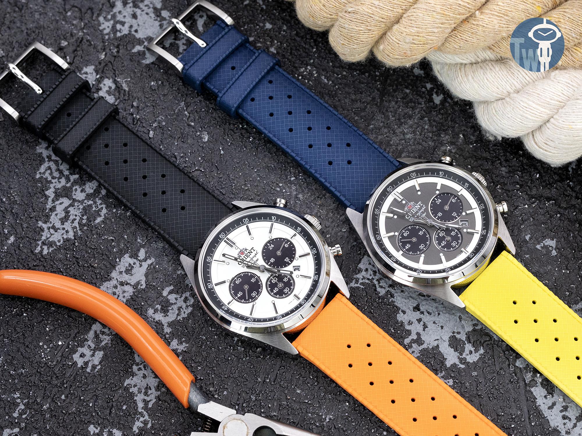 炎夏的潮流款式,Tropic Pro 熱帶橡膠快拆潛水款式錶帶