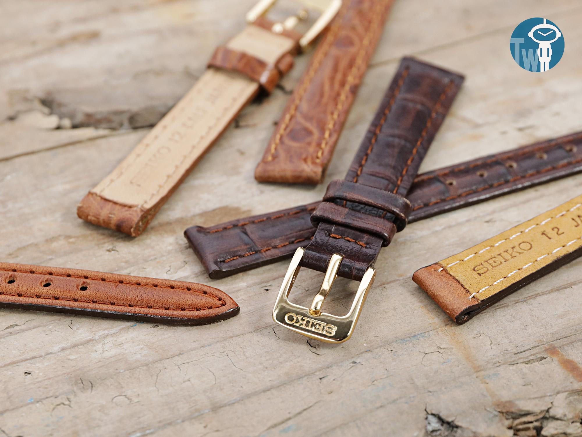 歷史的見證,原廠精工皮革錶帶你認識多少~?