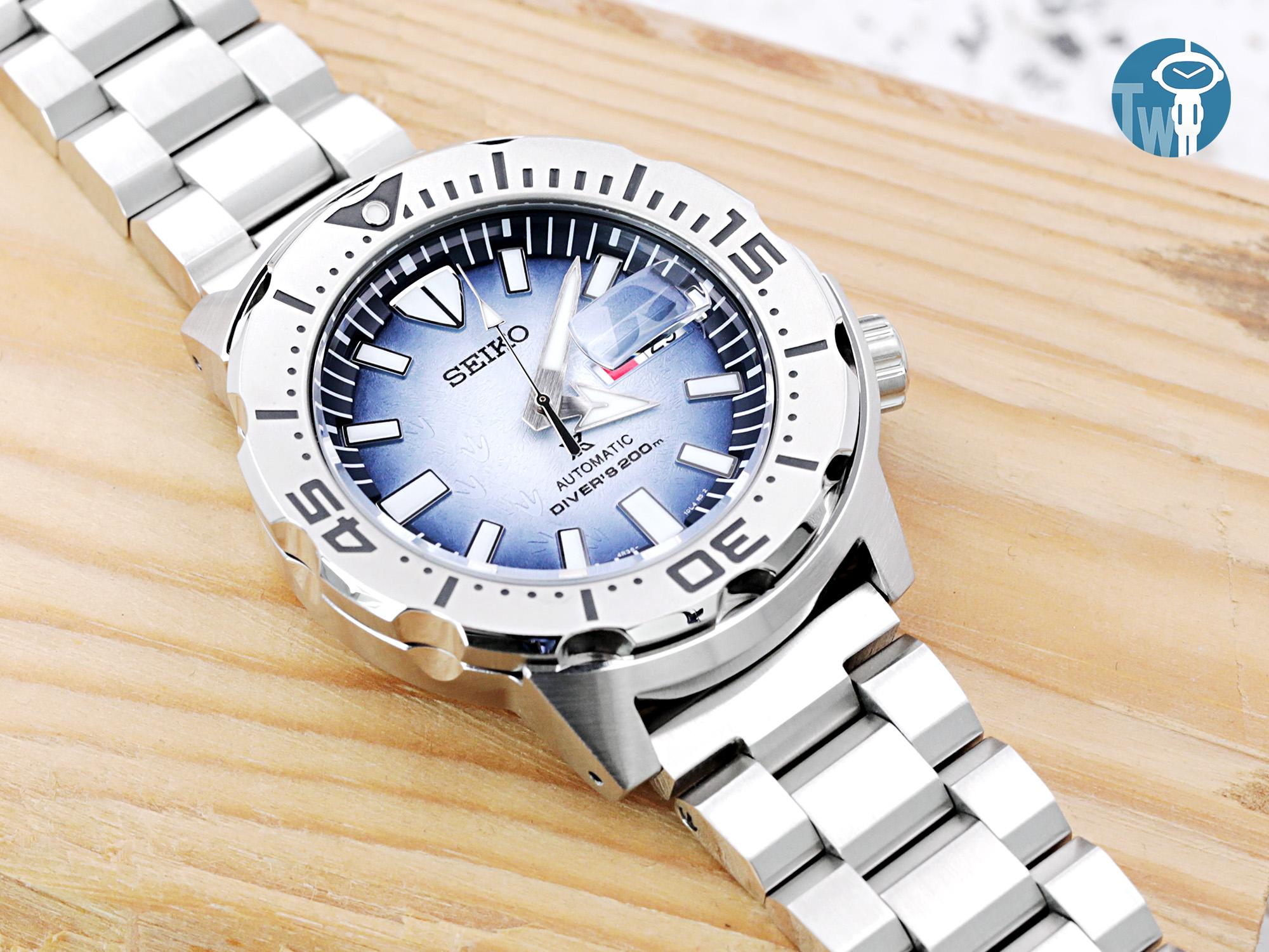SEIKO 精工 Prospex【Save The Ocean】南極企鵝 特別版 SRPG57K1
