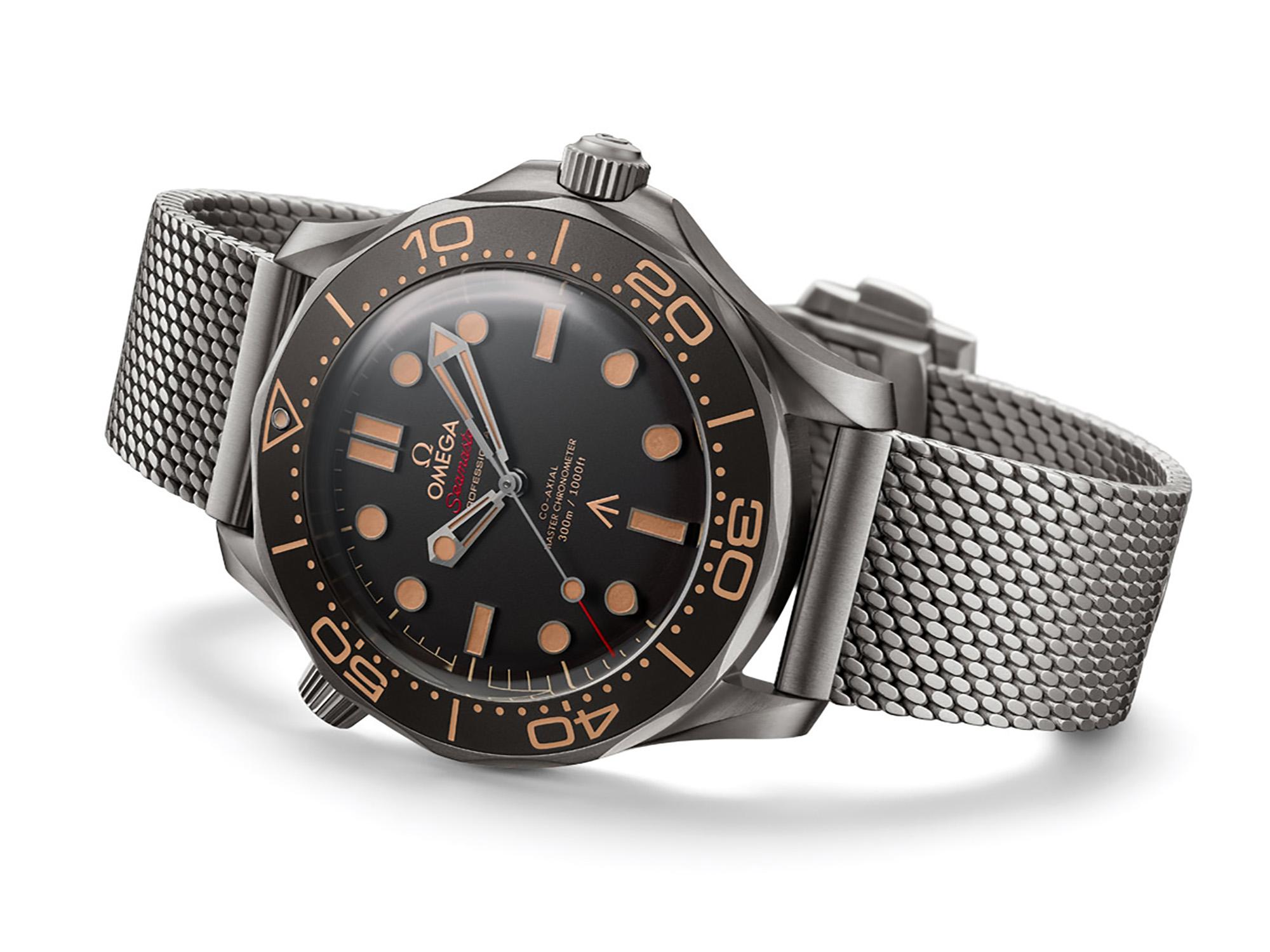 OMEGA 歐米茄與《007:生死交戰》:指揮官詹姆斯龐德的海馬限定版腕錶